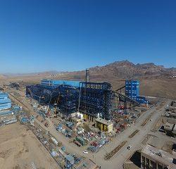 پروژه گندله سازی ۵ میلیون تن در سال