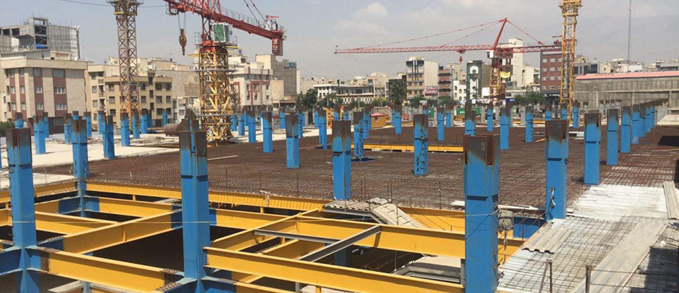 پروژه توسعه ساختمان پیروزی